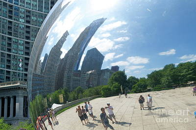 Photograph - The Bean by Pamela Walrath