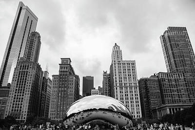 Photograph - The Bean by Ryan Heffron