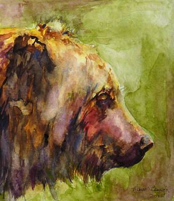 The Bear Art Print by P Maure Bausch