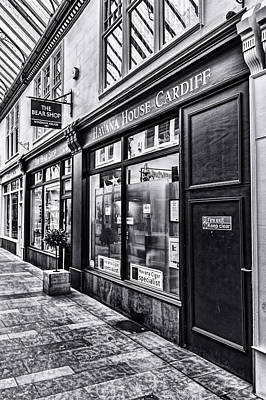 Photograph - The Bear Shop Mono by Steve Purnell