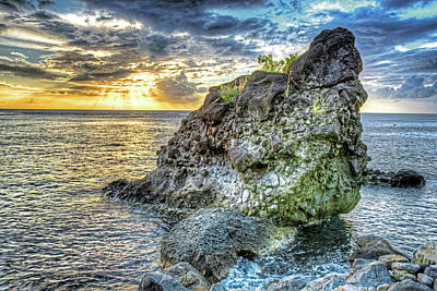 Photograph - The Beast Of Saint Lucia Anse Chastanet Anse Mamin Caribbean by Toby McGuire