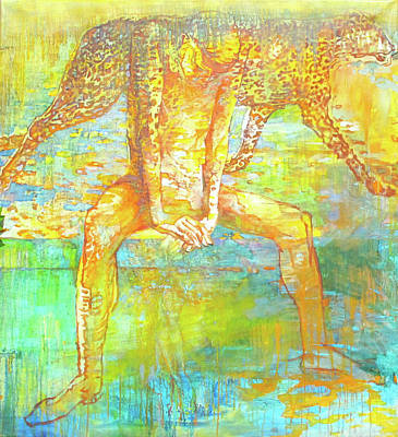 The Beast Art Print by Tanya Ilyakhova