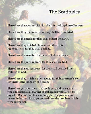 The Beatitudes Art Print