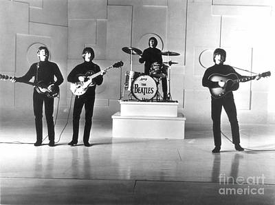 Performance Photograph - The Beatles, 1965 by Granger