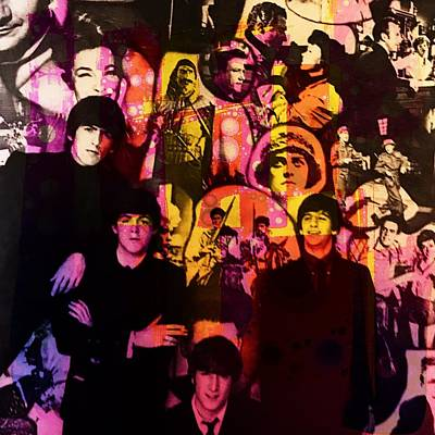 Photograph - The Beatles by Anne Thurston
