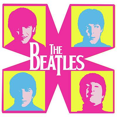 The Beatles Art Print by Caio Caldas