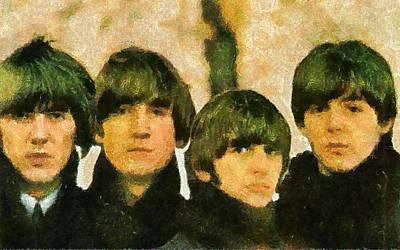 The Beatles Art Print by Galeria Zullian  Trompiz