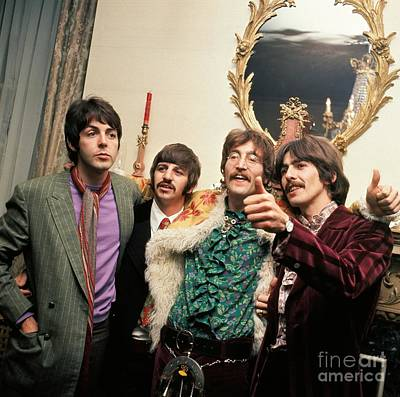 Starr Photograph - The Beatles Sgt. Pepper Release Party by The Titanic Project