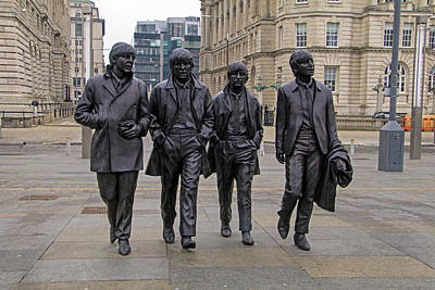 Photograph - The Beatles by Tony Murtagh