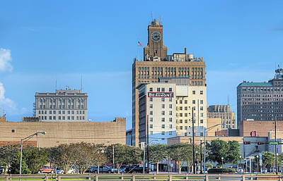 Photograph - The Beaumont Skyline by JC Findley