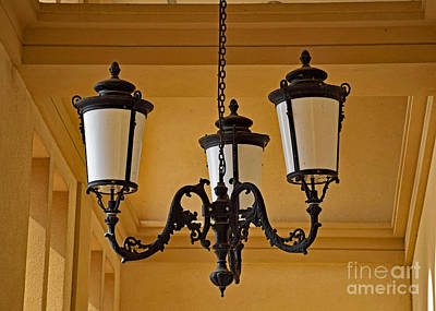 Photograph - The Beautiful Chandelier by Ray Shrewsberry
