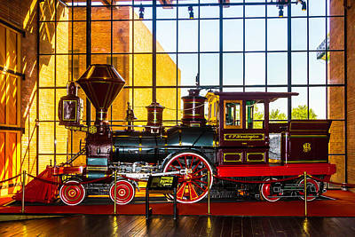Old West Photograph - The Beautiful C.p. Huntingtn Train by Garry Gay