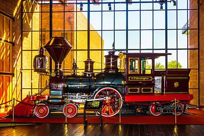The Beautiful C.p. Huntingtn Train Art Print by Garry Gay
