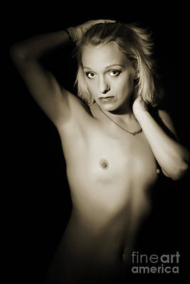 The Beautiful Female Nude Fine Art Prints Or Photographs  4240.0 Art Print