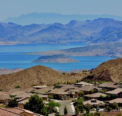 Photograph - The Beautiful Lake Mead by Lorna Maza