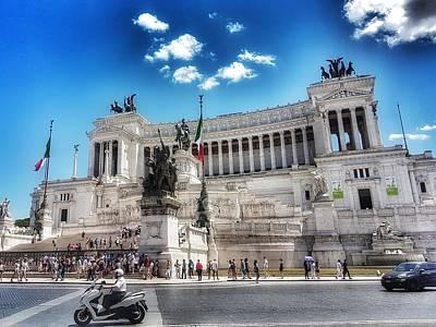 Photograph - The Beautiful Life In Rome by Paul Mc Namara