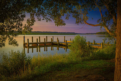 Photograph - The Beautiful Patuxent by Cindy Lark Hartman