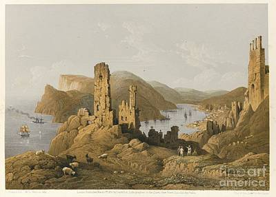 Beautiful Scenery Painting - The Beautiful Scenery And Chief Place Of Interest Throughout The Crimea by Celestial Images