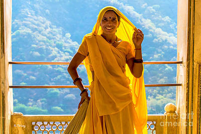 Photograph - The Beautiful Women Of India Iv by Rene Triay Photography