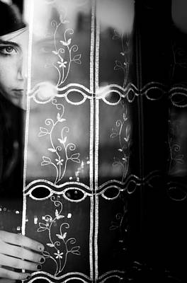 Curtains Photograph - The Beautiful Young Uncertainty by Luca Ferdinandi
