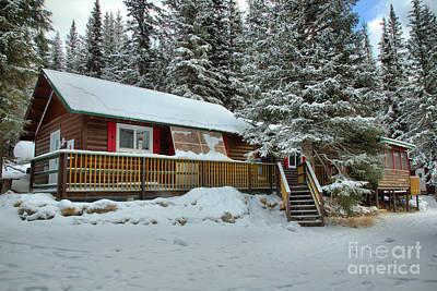 Photograph - The Beauty Creek Wilderness Hostel by Adam Jewell