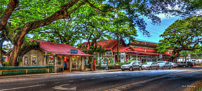 Photograph - The Beauty Lives On Old Koloa Town Kauai Collection Art by Reid Callaway