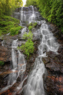 Photograph - The Beauty Of Amicalola Falls by Debra and Dave Vanderlaan