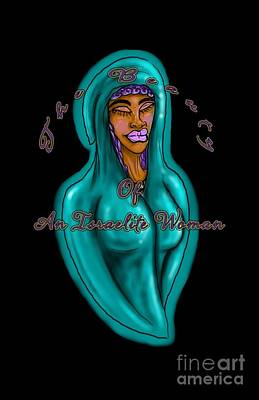 Digital Art - The Beauty Of An Israelite Woman by Robert Watson