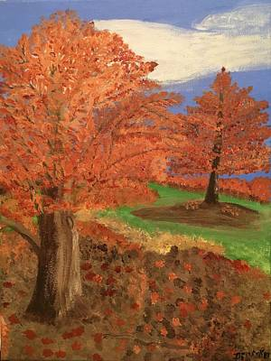 Painting - The Beauty Of Autumn  by Alice Dianne Visker
