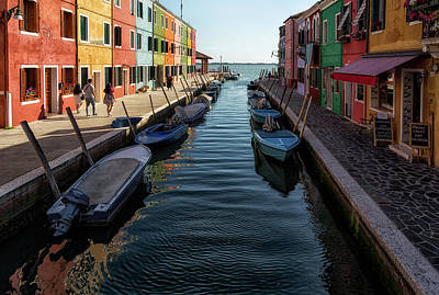 Photograph - The Beauty Of Burano by John Hoey