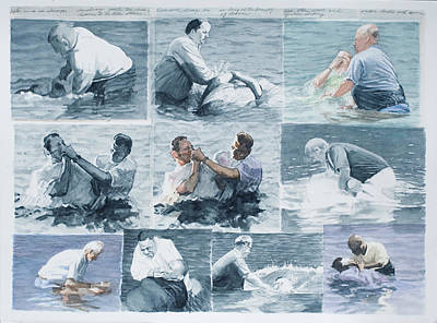 Baptism Painting - The Beauty Of Chance by Perry Woodfin