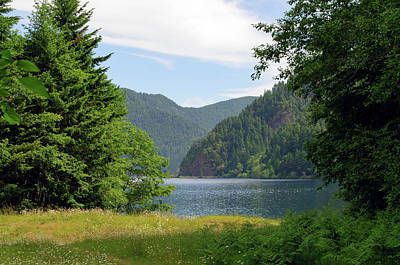 Photograph - The Beauty Of Crescent Lake by Tikvah's Hope