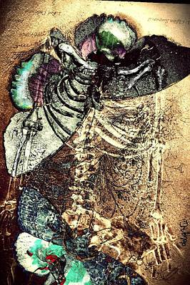 Digital Art - The Beauty Of Decay by Delight Worthyn