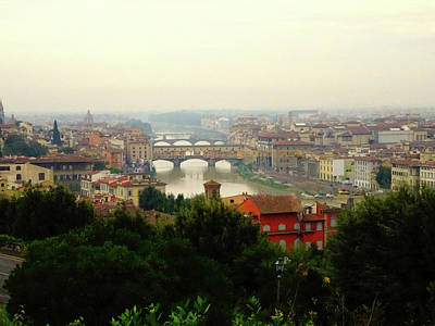Photograph - The Beauty Of Florence  by Alan Lakin