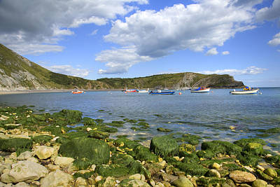 Art Print featuring the photograph The Beauty Of Lulworth Cove by Ian Middleton