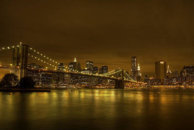 The Beauty Of Manhattan Art Print by Andreas Freund