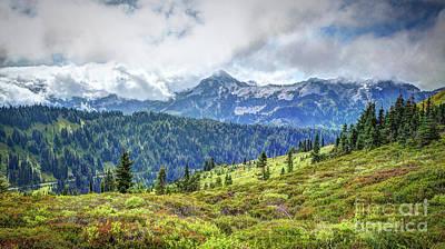 Photograph - The Beauty Of Mt. Rainier by Deborah Klubertanz