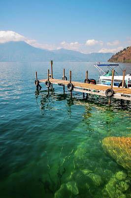 Photograph - The Beauty Of Nature At Lake Atitlan In Guatemala by Daniela Constantinescu
