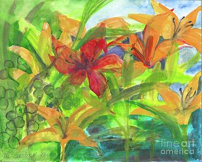 Painting - The Beauty Of Spring 2009 by Claudia Smaletz