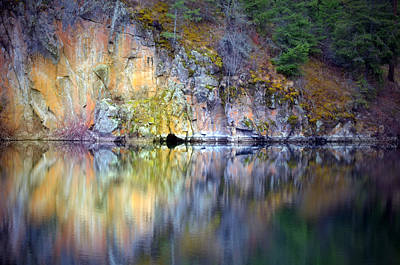 Photograph - The Beauty Of Stone Reflected by Tara Turner