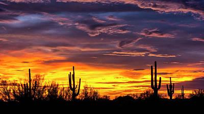 Photograph - The Beauty Of The Desert Skies At Sunset  by Saija Lehtonen