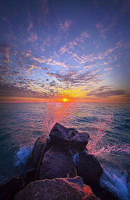 Photograph - The Beauty Of The Moments In Between by Phil Koch