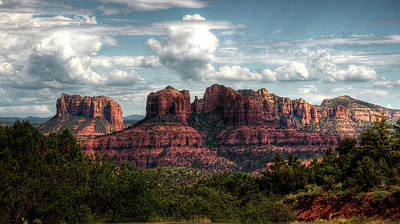 Photograph - The Beauty Of The Red Rocks  by Saija Lehtonen