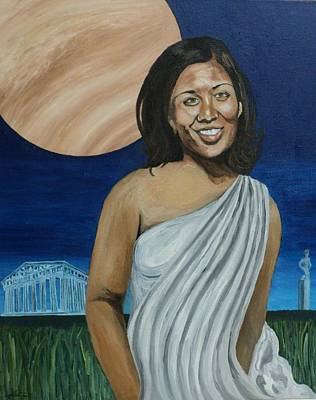 Painting - The Beauty Of Venus by Angelo Thomas