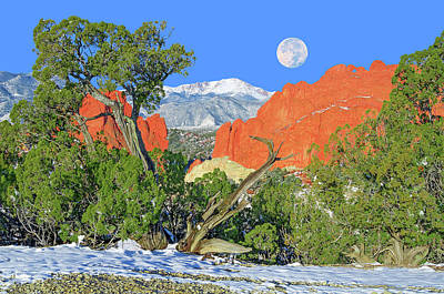 The Beauty That Takes Your Breath Away And Leaves You Speechless. That's Colorado.  Art Print