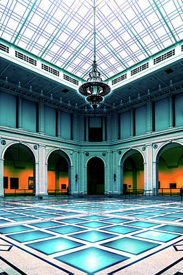 Photograph - The Beaux-arts Court by Chris Lord