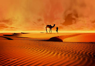 The Bedouin Art Print