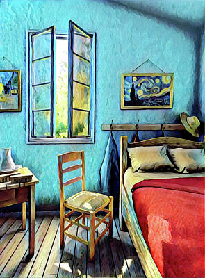 Painting - The Bedroom by Gary Grayson