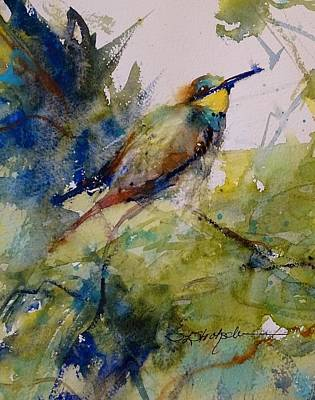 Painting - The Bee Eater by Sandra Strohschein