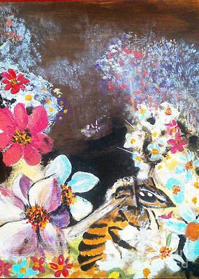 Painting - The Bee by Francine Heykoop